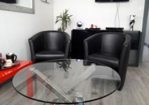 salle attente du cabinet de psychothérapie à Rennes PENA-LOZANO