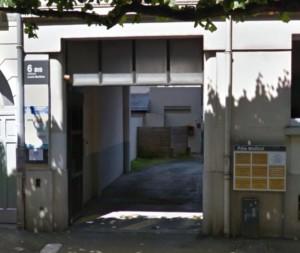 photo de l'entrée du cabinet de psychothérapie à rennes PENA-LOZANO